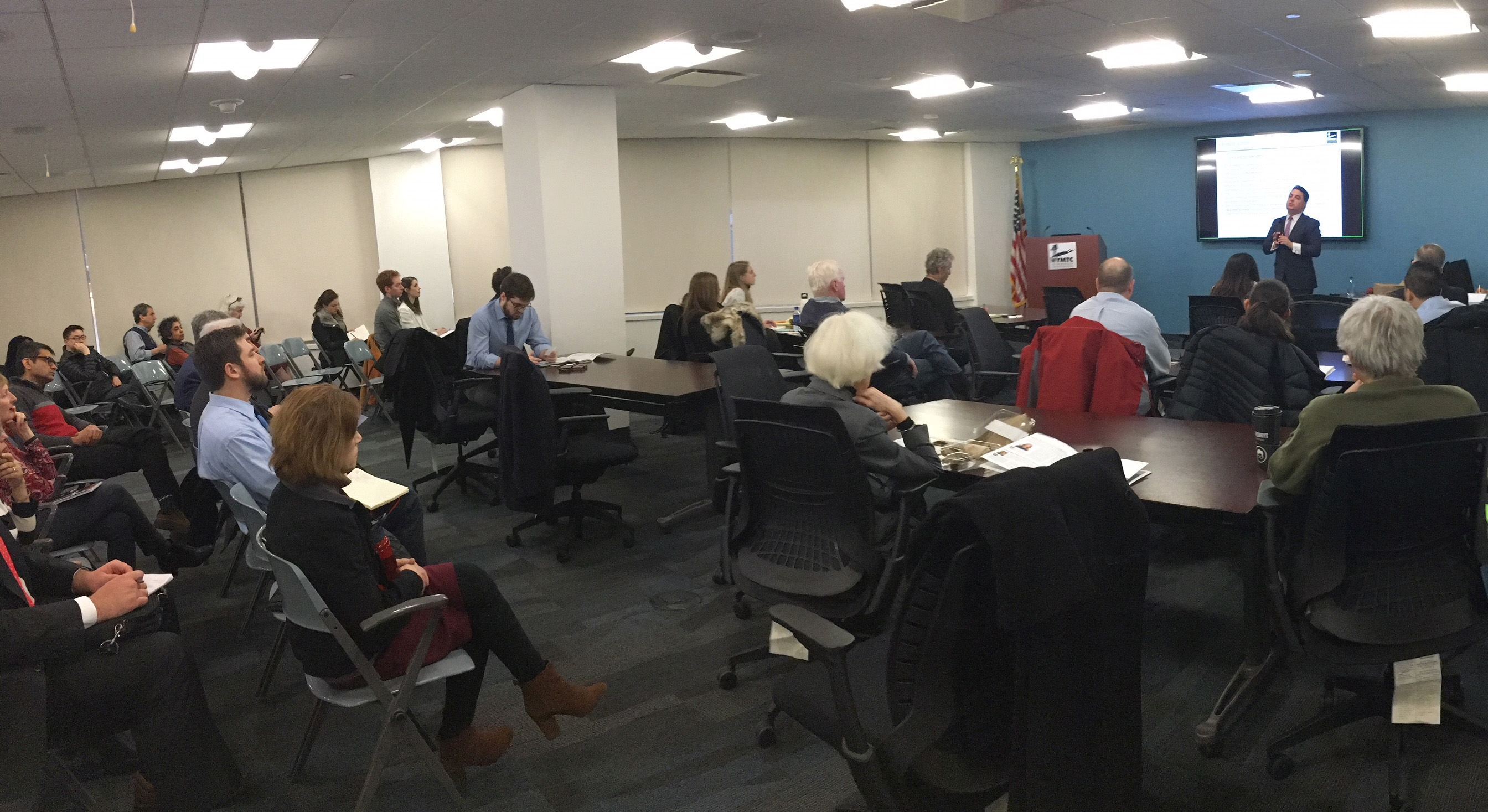 NYMTC's Regional Trends Series meeting