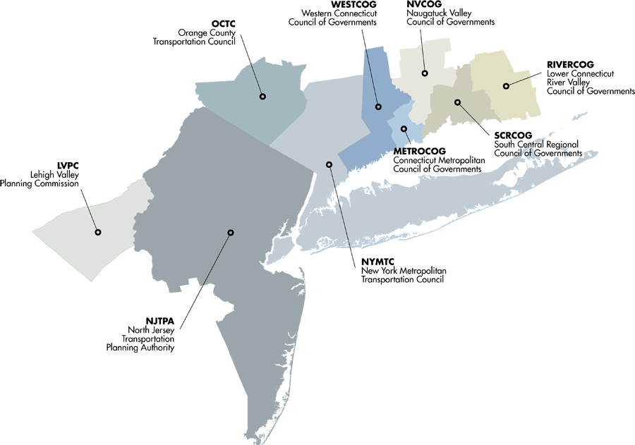 Map Of New York New Jersey And Connecticut.Metropolitan Area Planning Map Forum