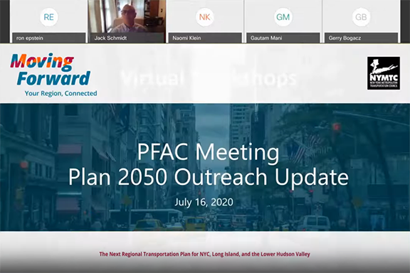 PFAC virtual meeting