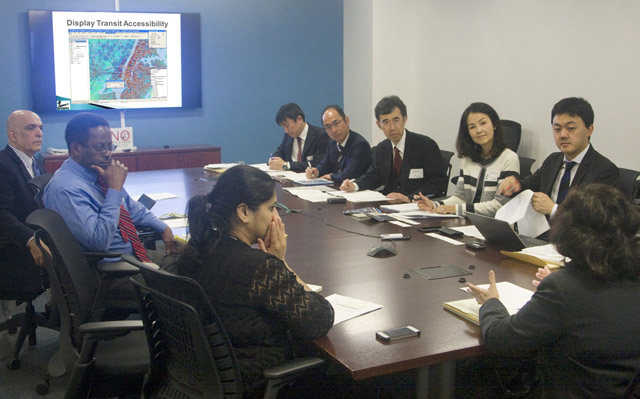 japanese delegation from City of Tokyo
